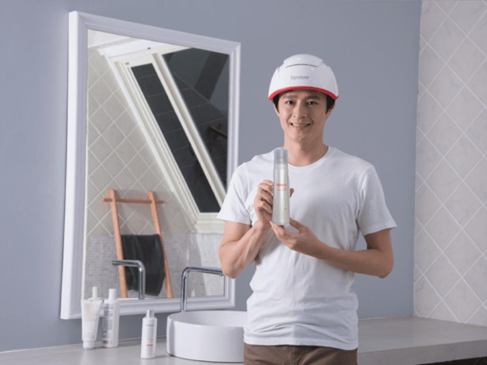 iRestore雷射生髮帽-Pro+激活因子養髮液
