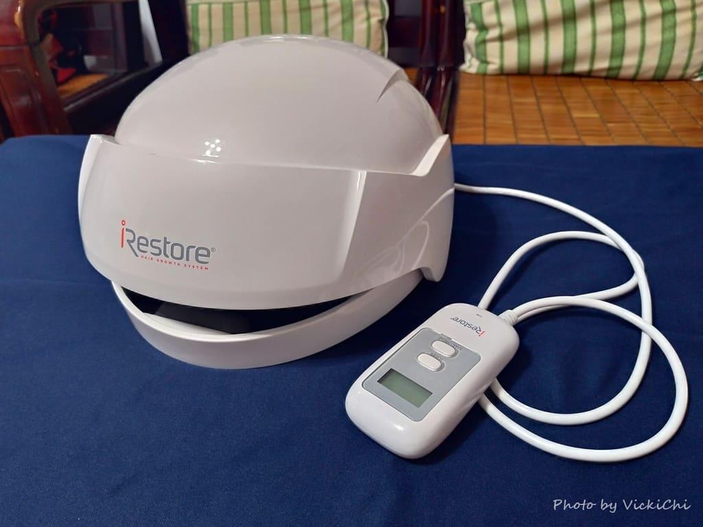iRestore雷射生髮帽和線控器iRestore雷射生髮帽-Pro使用心得-效果-評價-推薦