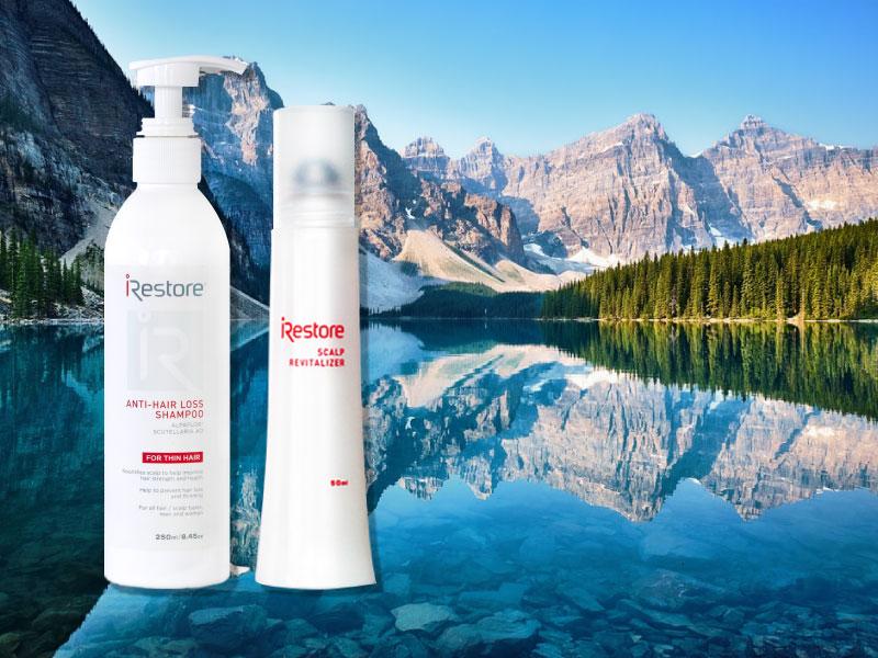iRestore雷射生髮帽-養髮液+洗髮精-健髮雙重組